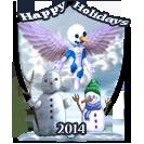 Happy Holidays 2014 Award