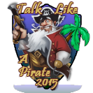 Talk Like A Pirate Day 2015 Award