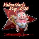 2016 Happy Valentine's Day Award
