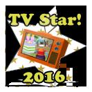 MCF 2016 TV Star Award