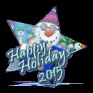 Happy Holidays 2015 Award