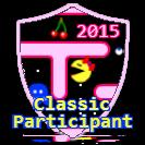 Classic Arcade Participant Award