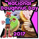 National Donut Day Award 2017